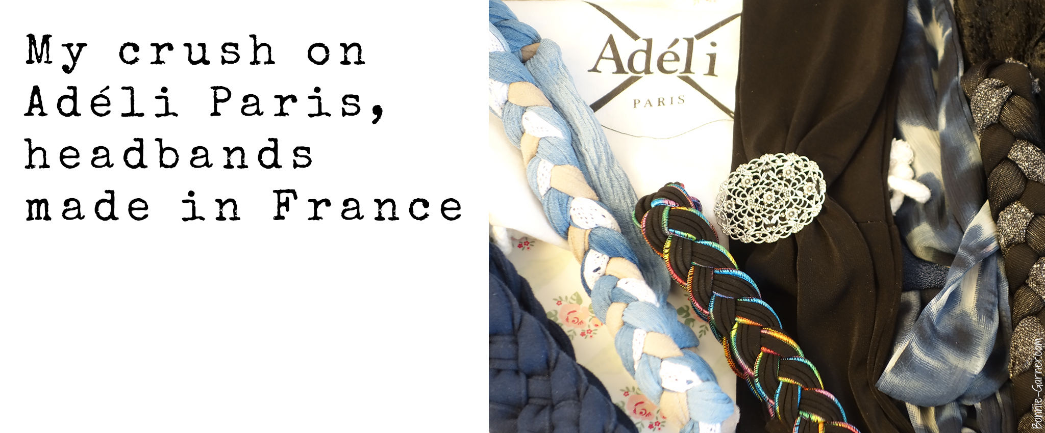 My crush on Adéli Paris, headbands made in France