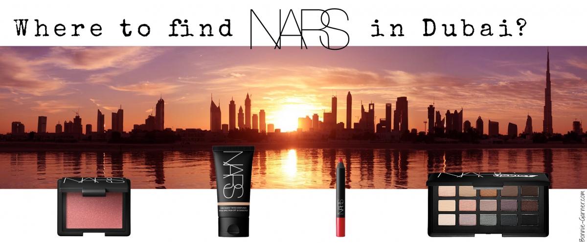 Where to find NARS in Dubai?