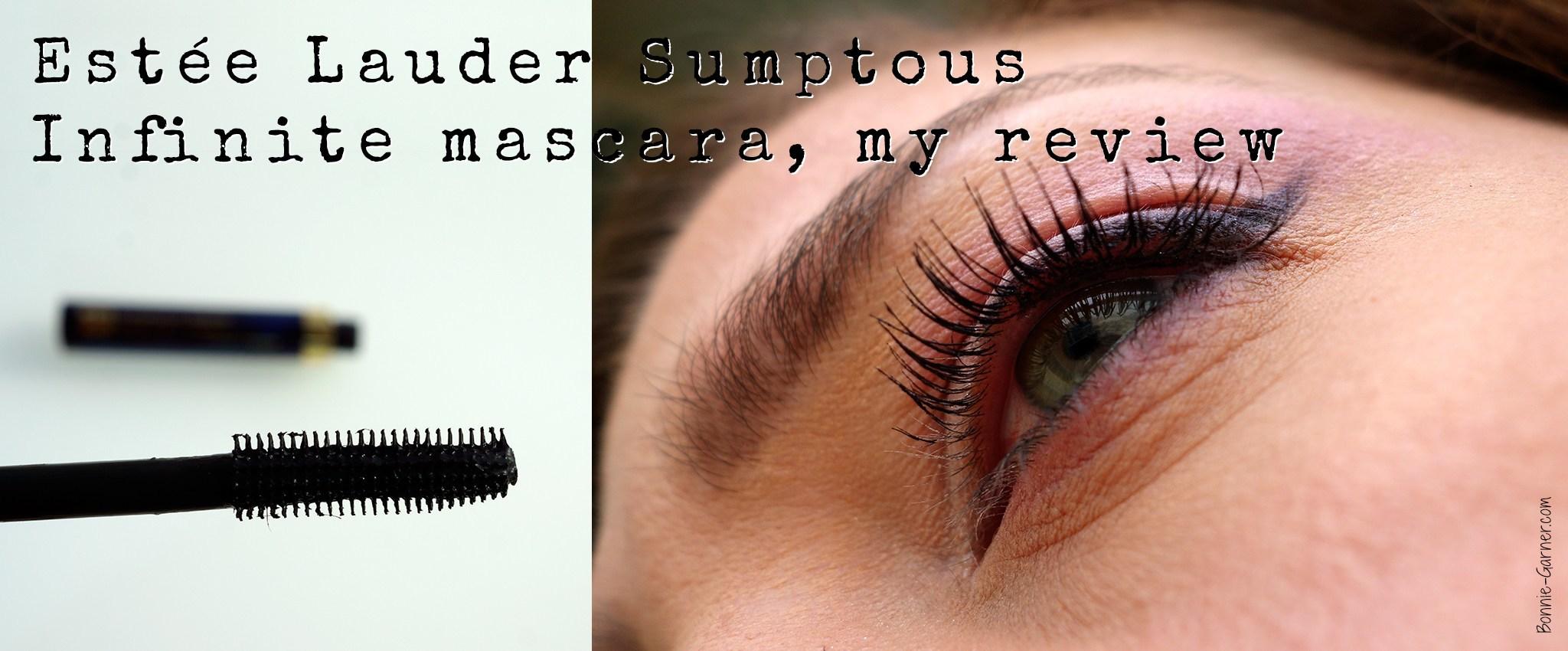 Estée Lauder Sumptous Infinite mascara, my review