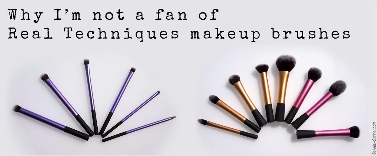Why I'm not a fan of Real Techniques makeup brushes