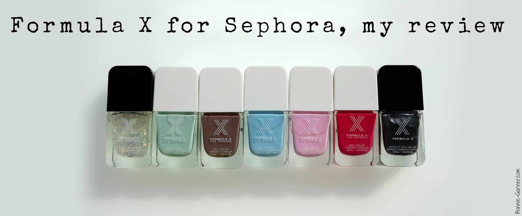 Formula X for Sephora my review