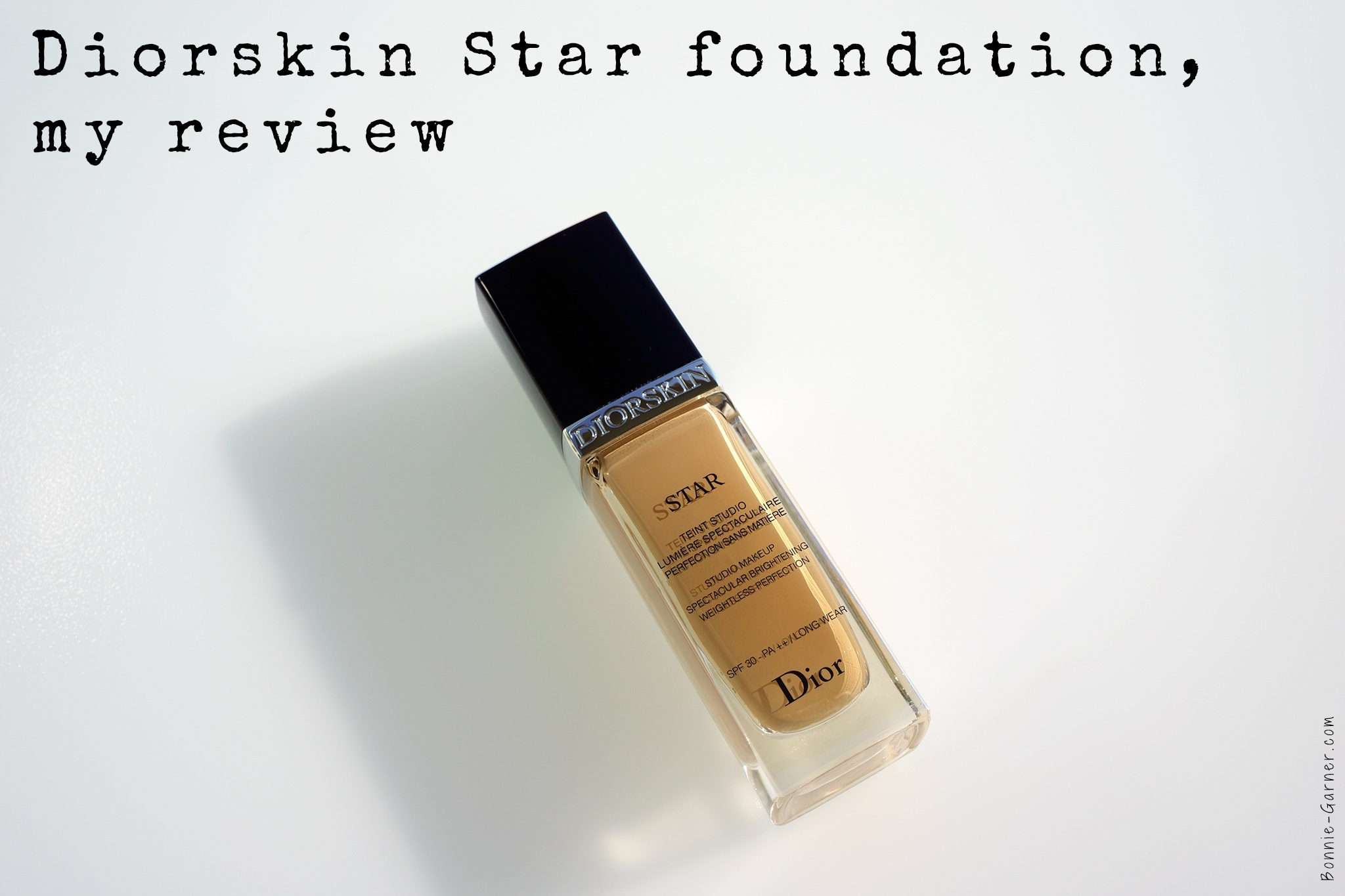 Diorskin Star Foundation my review