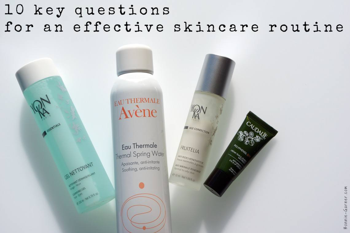 10 key questions for an effective skincare routine