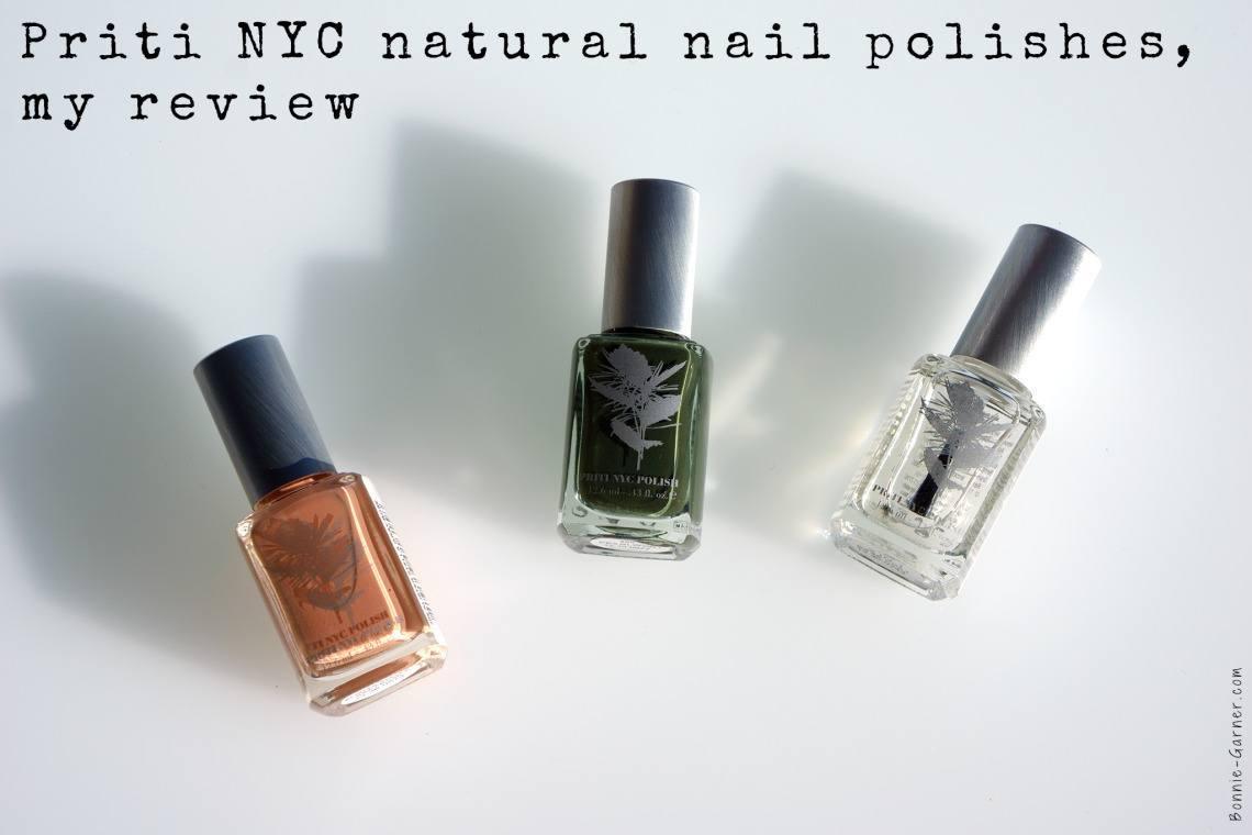 Priti NYC natural nail polishes, my review