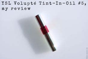 YSL Volupté Tint-In-Oil #5, my review