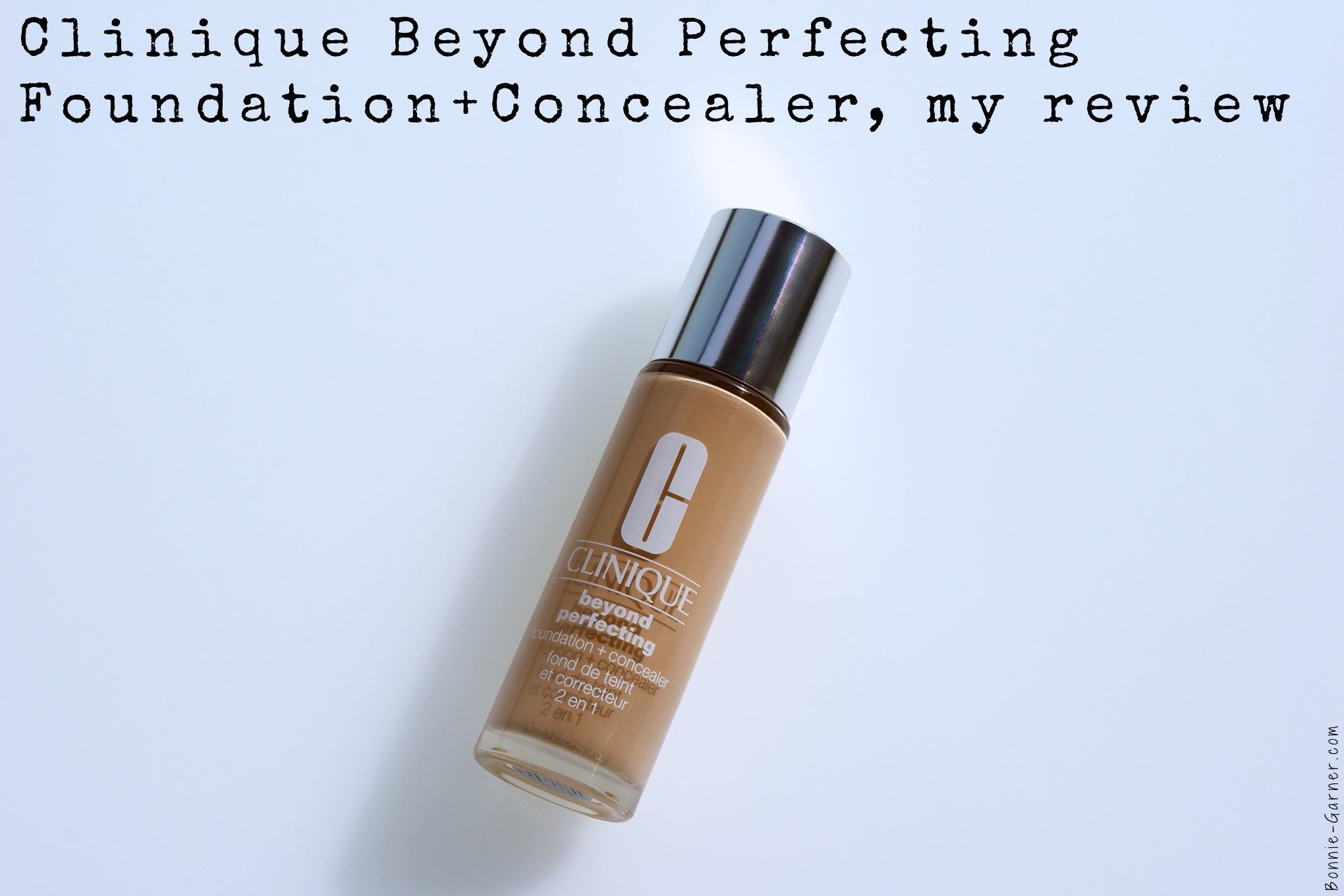 Clinique Beyond Perfecting Foundation Concealer my review