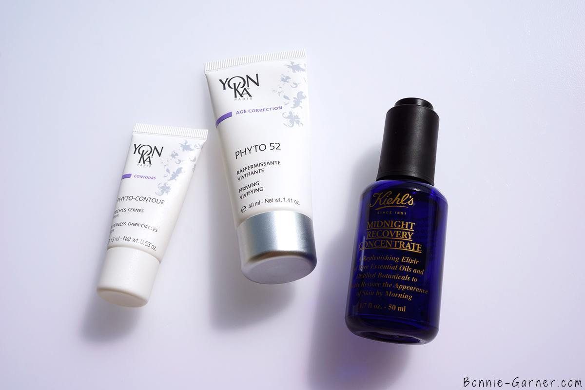 How to determinate your skin type? Yon-Ka Phyto 52 Phyto Contour Kielh's Midnight Recovery Concentrate