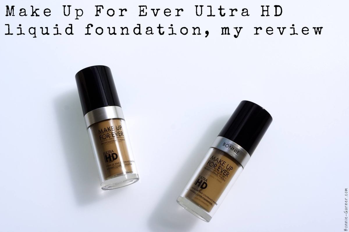 Make Up For Ever Ultra HD liquid foundation, my review