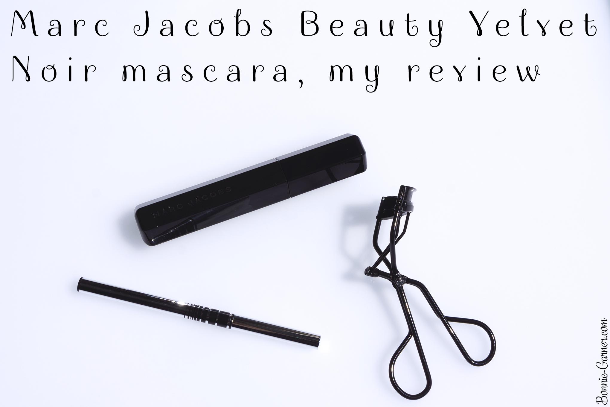 Marc Jacobs Beauty Velvet Noir mascara, my review