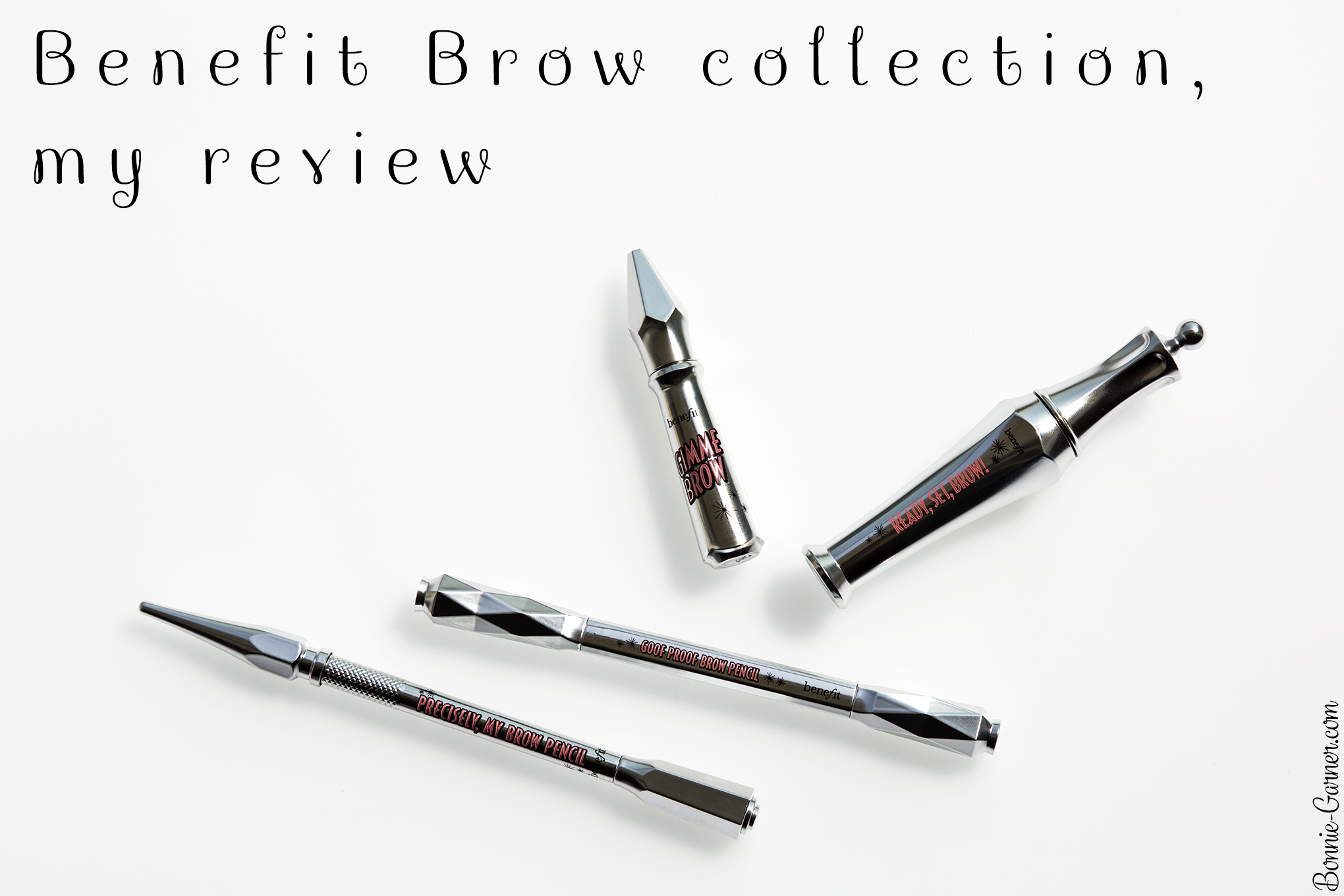 Benefit brow collection, my review