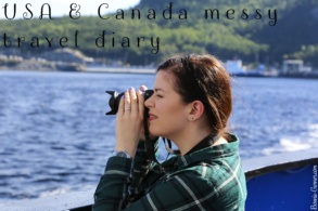USA & Canada messy travel diary