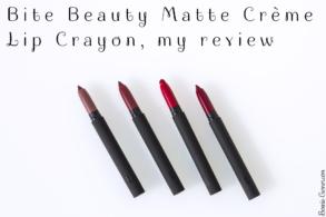 Bite Beauty Matte Crème Lip Crayon, my review