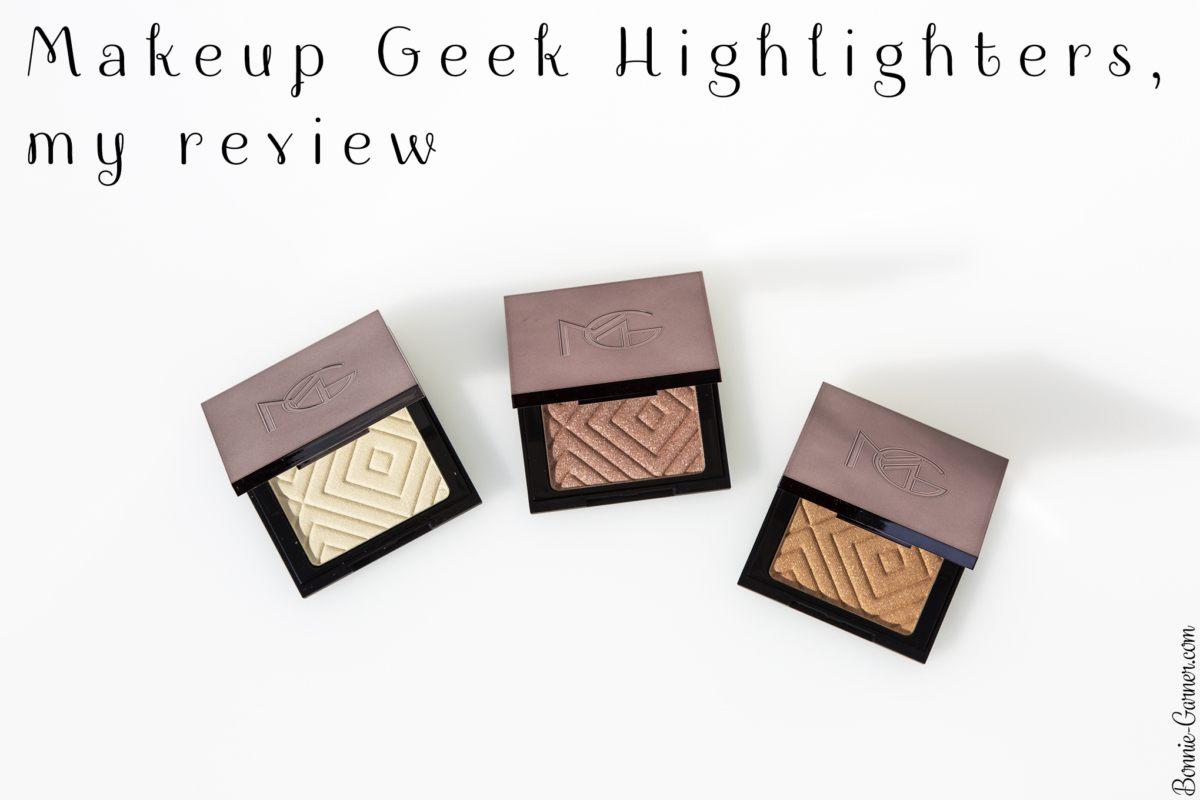 Makeup Geek Highlighters, my review