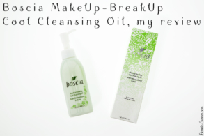 Boscia MakeUp-BreakUp Cool Cleansing Oil, my review