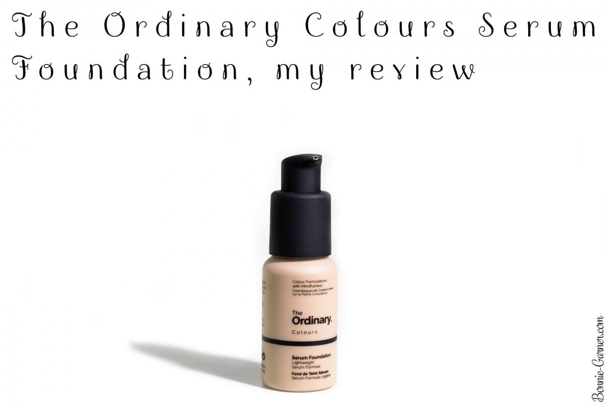 The Ordinary Colours Serum Foundation, my review