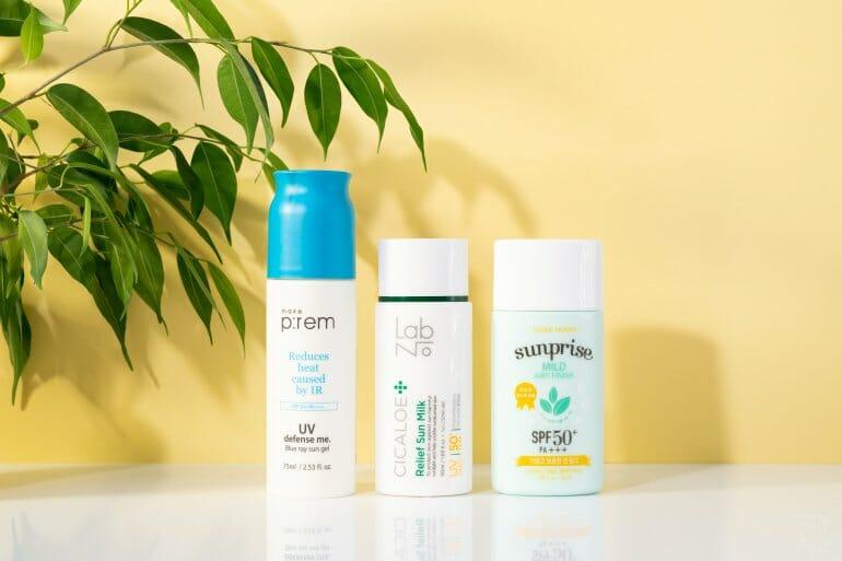 Korean Sunscreens review