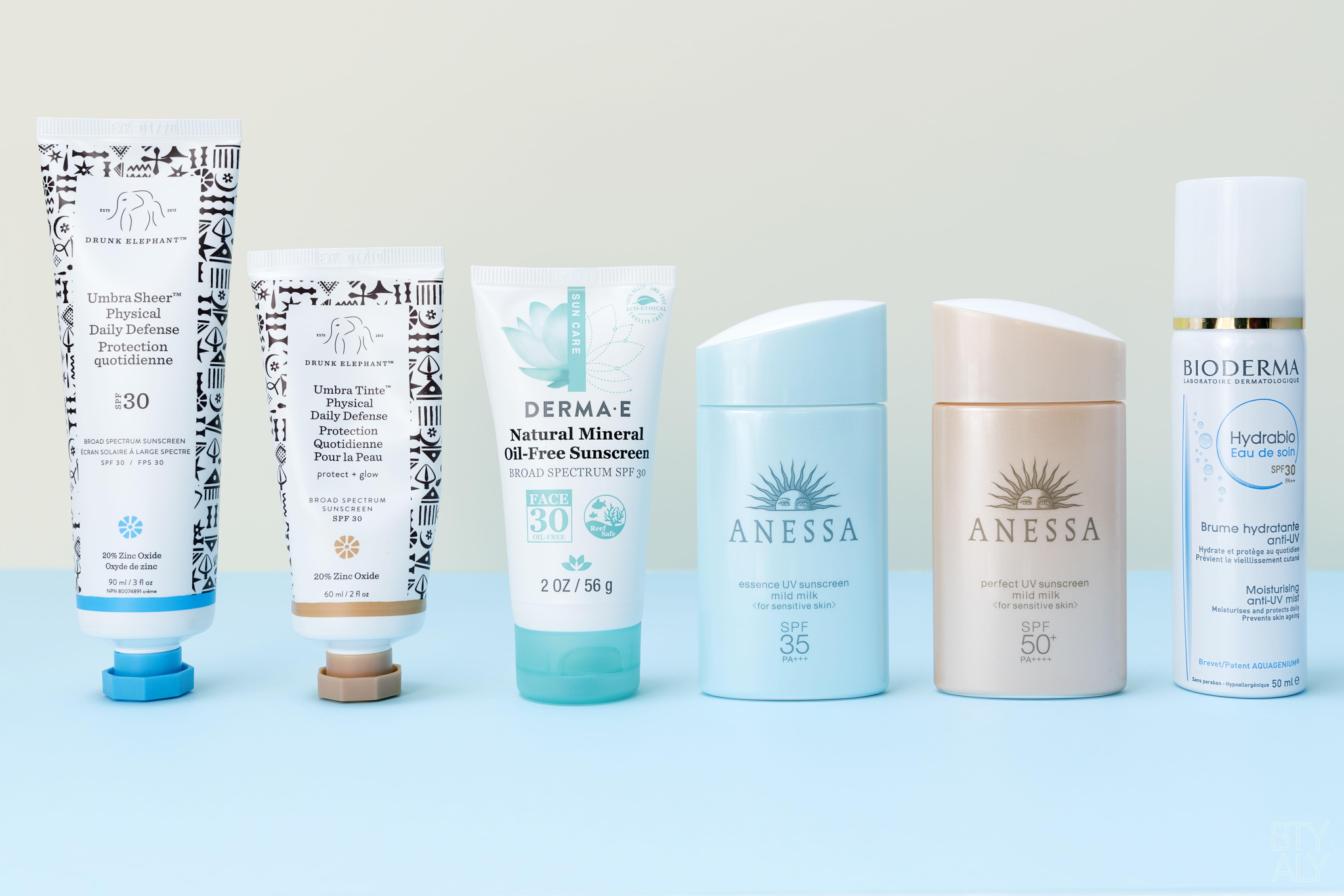 Sunscreens Guide 2018
