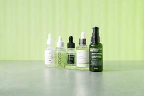 Centella Asiatica/ Cica cosmetic products: ampoules/serums Purito, Iunik, Cosrx, Cicago, Tosowoong