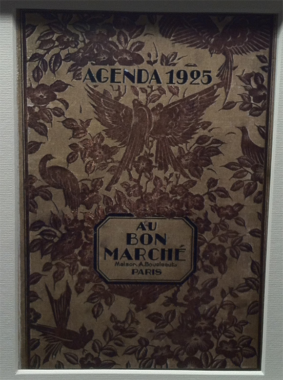 Agenda 1925 - Bon Marché