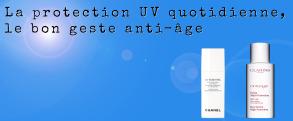 La protection UV quotidienne le bon geste anti-age