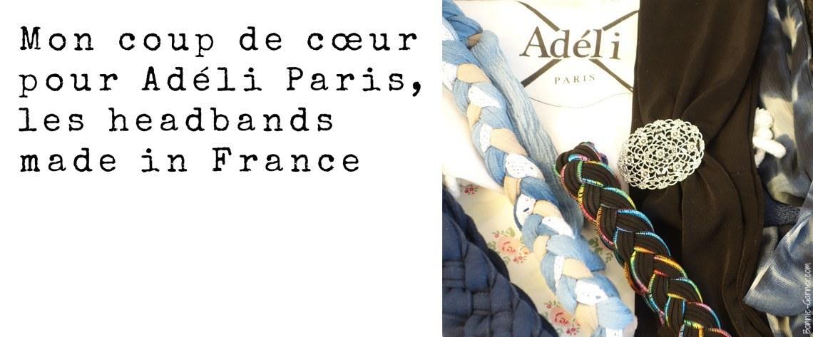 Mon coup de coeur pour Adeli Paris, les headbands made in France