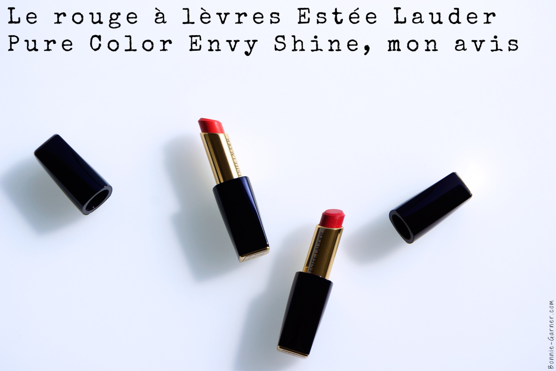 Le rouge à lèvres Estée Lauder Pure Color Envy Shine, mon avis
