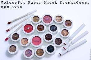 ColourPop Super Shock Eyeshadows, mon avis