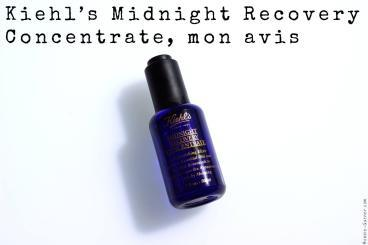 Kiehl's Midnight Recovery Concentrate, mon avis