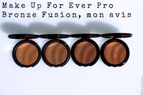 Make Up For Ever Pro Bronze Fusion, mon avis
