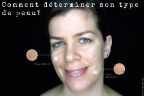 Comment déterminer son type de peau?