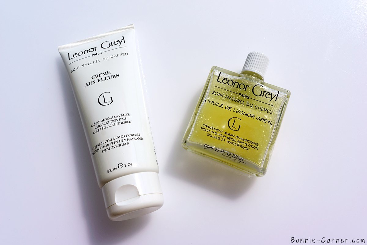 La crème aux fleurs et L'huile de Leonor Greyl