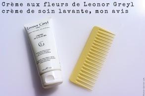 La crème aux fleurs de Leonor Greyl mon avis