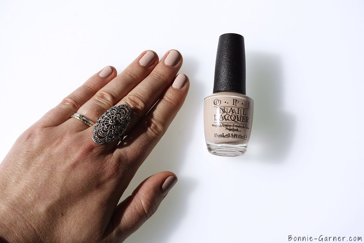 OPI Venice collection Tiramisu for two