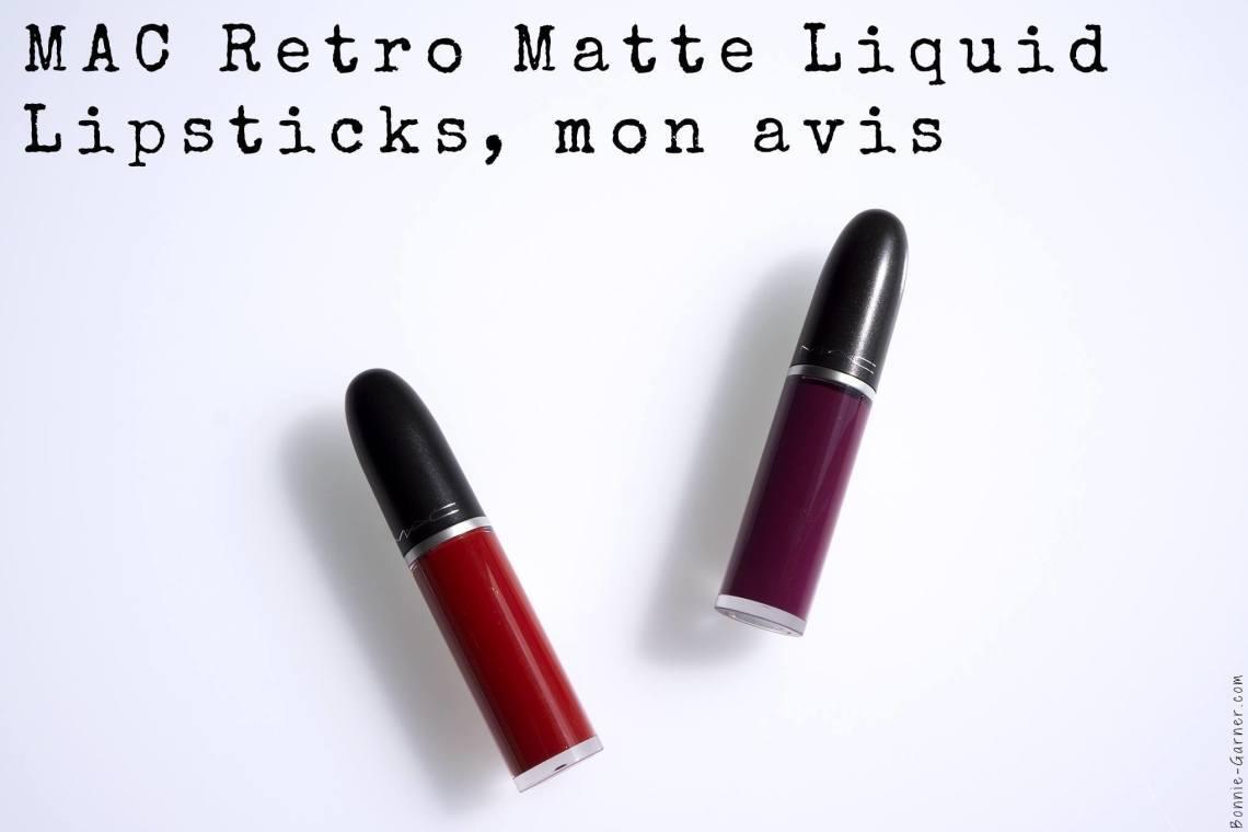 MAC Retro Matte Liquid Lipstick, mon avis