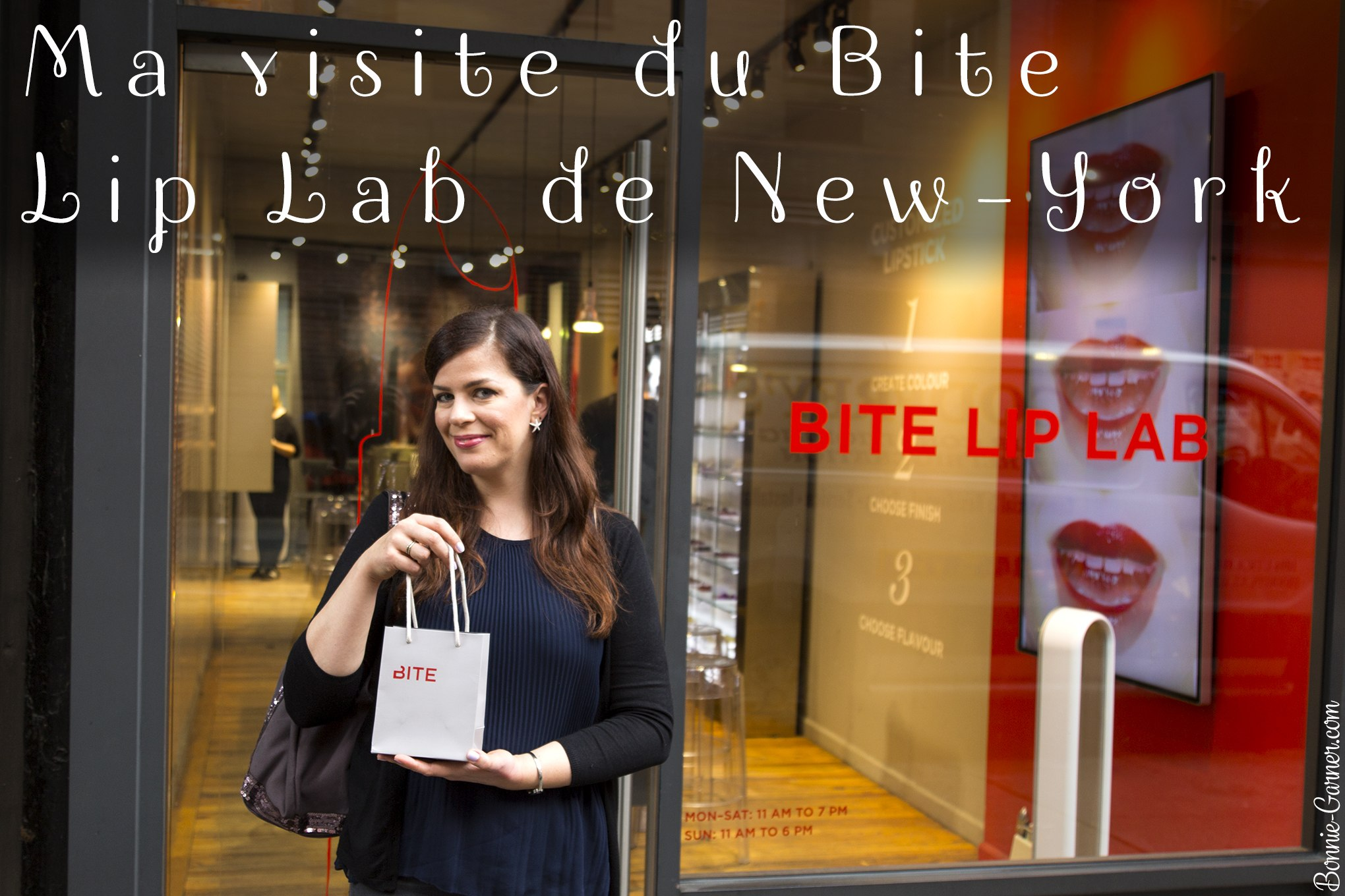 Ma visite du Bite Lip Lab de New-York