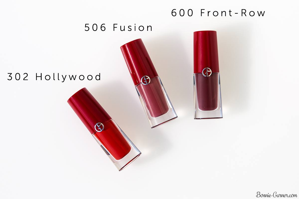 Armani Lip Magnet Liquid Lipstick 302, 506, 600