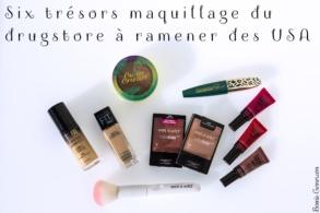 Six trésors maquillage du drugstore à ramener des USA
