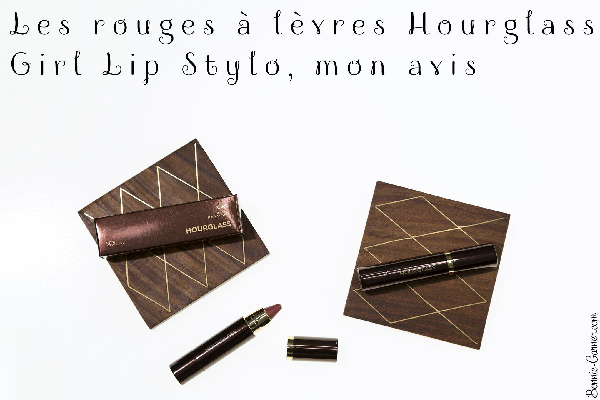 Les rouges à lèvres Hourglass Girl Lip Stylo, mon avis