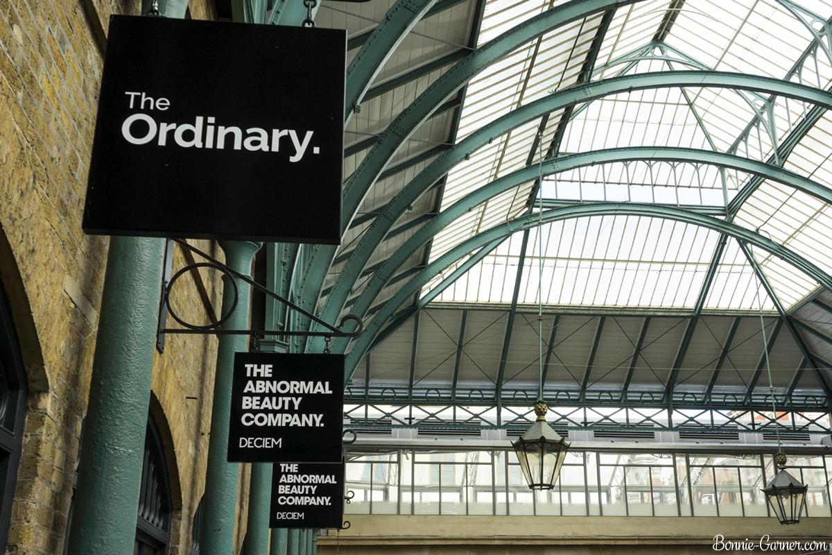 Deciem store London UK Covent Garden