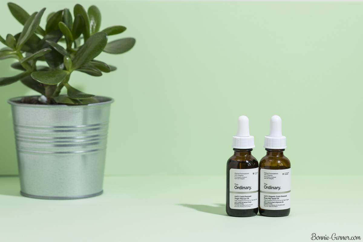 The Ordinary oils: Rose Hip Seed Oil & Marula Oil
