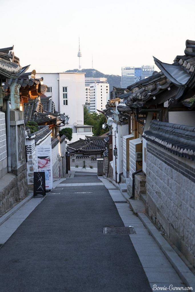 Bukchon Hanok Village, Seoul South Korea
