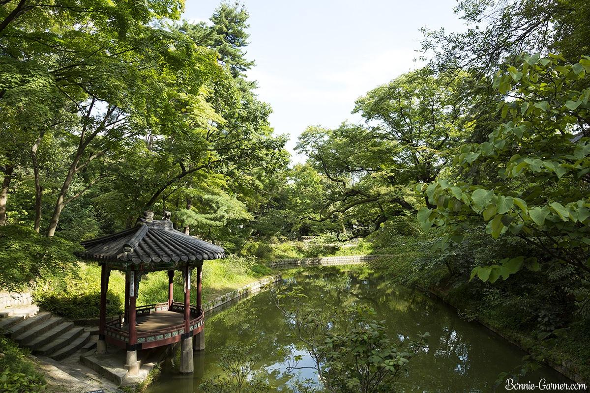 Changdeokgung palace Secret Garden, Seoul South Korea